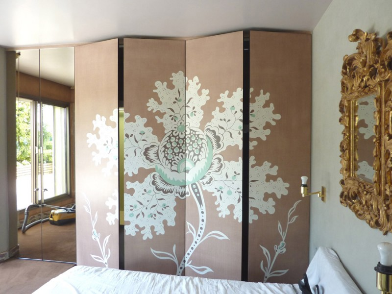 fleur de chambre artiste peintre d corateur paris et ile de france. Black Bedroom Furniture Sets. Home Design Ideas