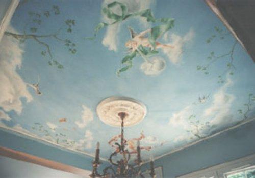 Salle à manger sous les anges
