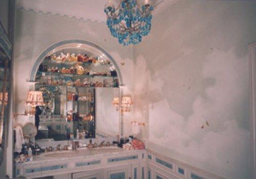 Salle de bains dans les nuages