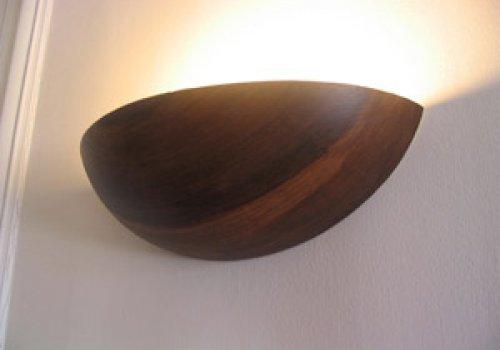 eclairage en bois