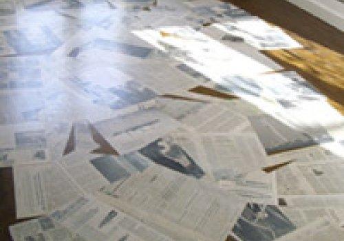 tapis de journaux
