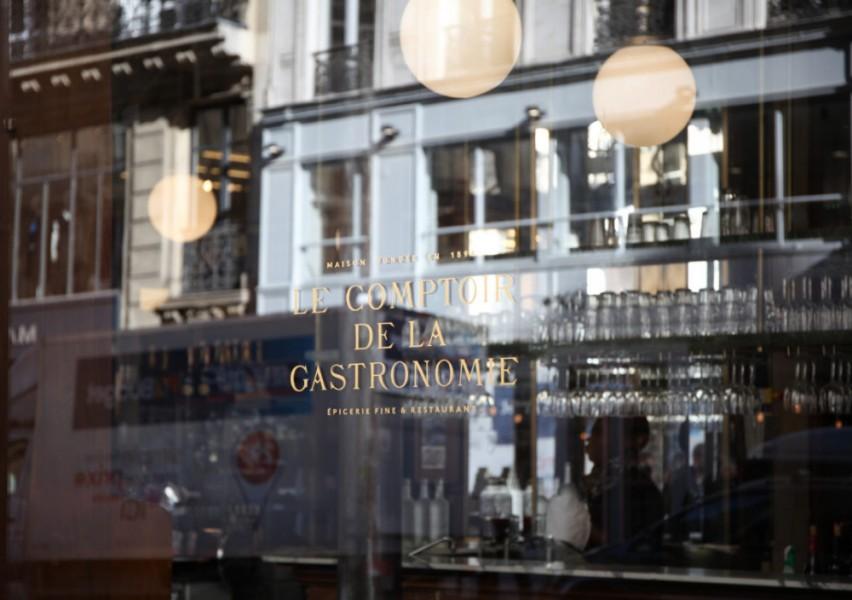Le Comptoir de la Gastronomie | Artiste Peintre Décorateur - Paris