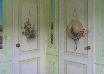 Des portes à fleurs