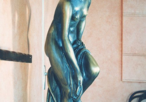 Venus in fake bronze