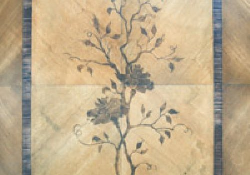 Fake marquetry