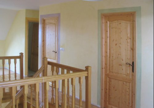 Pastel surrounds for doors