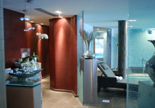 SPA: indoor swimming pool and jacuzzi