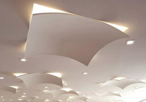 Plafond feuille
