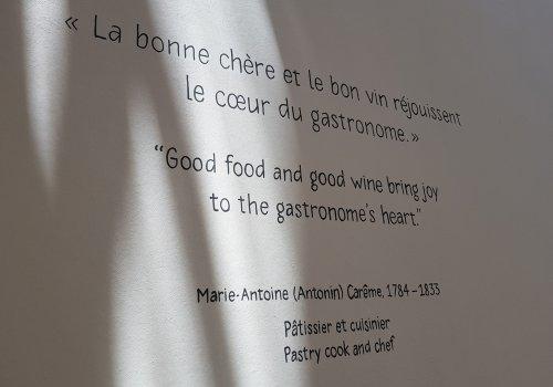Musée de la gastronomie à Lyon